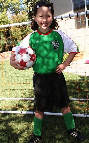 Appreciate your children to take part in sports.