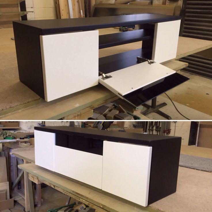 Furniture makers- bespoke T.V cabinet. Cabinet Makers - Manchester @ www.gillmartinez.com