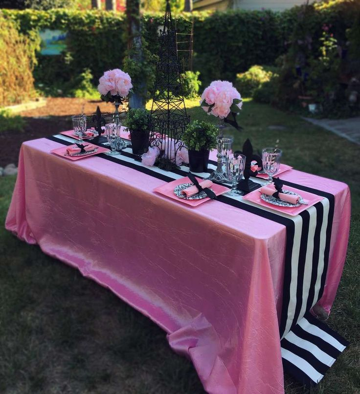 French / Parisian Birthday Party Ideas   Photo 9 of 10   Catch My Party