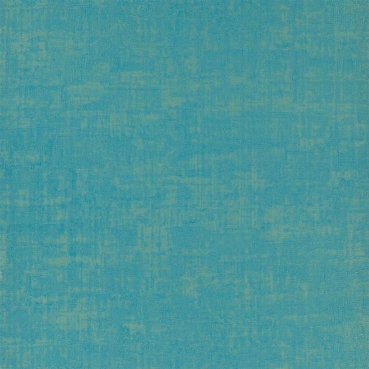 Seta   Turquoise Wallpaper   Designers Guild
