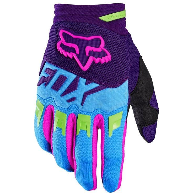 Fox Racing 2016 Dirtpaw Vicious SE Gloves Blue
