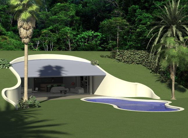 Baldwin O'Bryan Architects - Earth Sheltered House | Earth ...