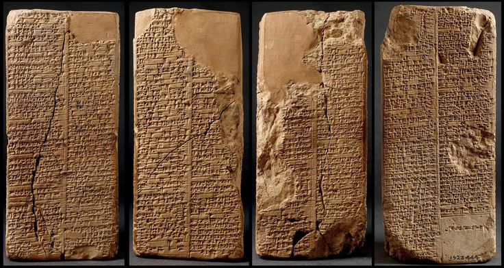The Sumerian invention of writing