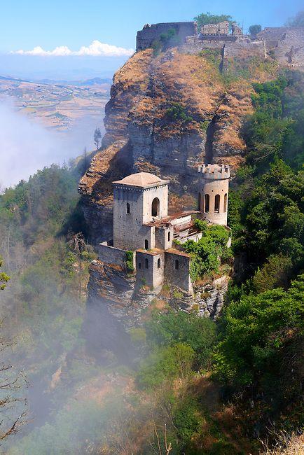Castello di Venere, Erice, Sicily, Italy, province of Trapani