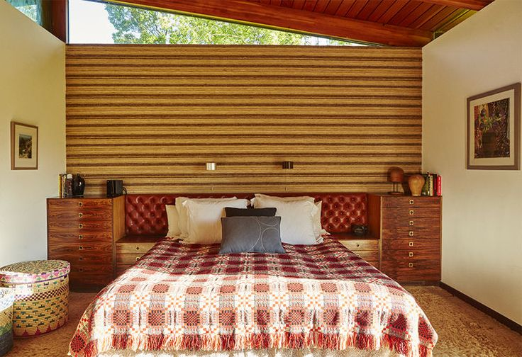 Vintage Master Bedroom with Built-Ins