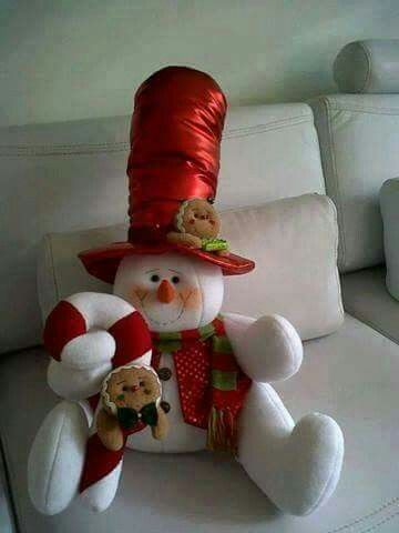 Muñeco nieve sombrero