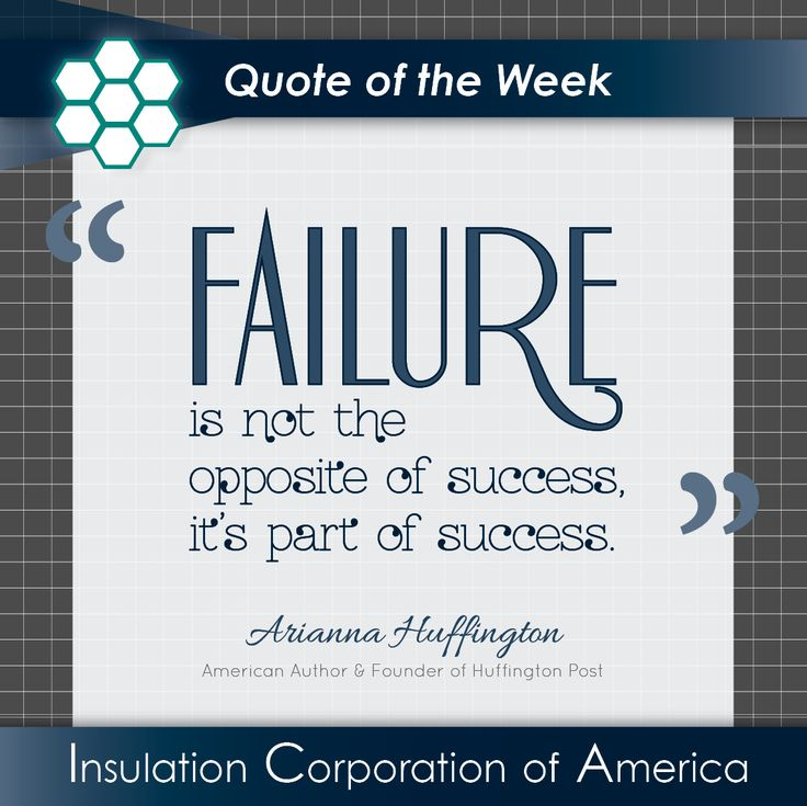 Inspirational Quotes About Failure: Arianna Huffington #inspiration