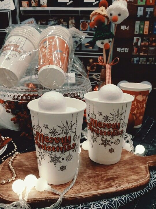 JJPLUS Christmas Cup Design   #jjplus#christmas#papercup#cafedesign#cafeshow#서울카페쇼