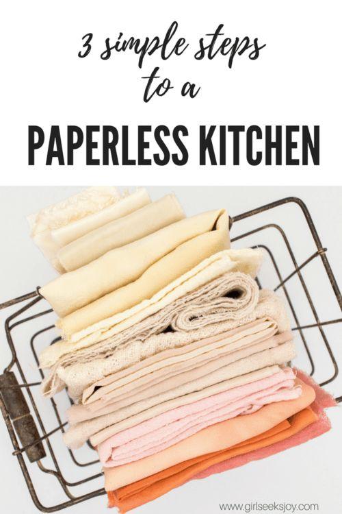 wie Sie Ihre Küche zumeist papierlos machen »   – Jen| Healthy Lifestyle