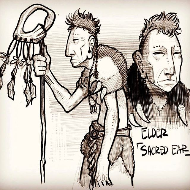 'Artifact' Character sketch #001