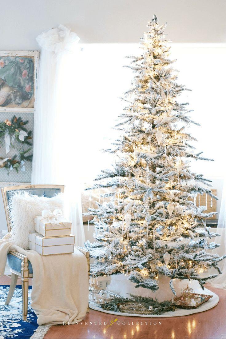 Vickerman Flocked Christmas Trees