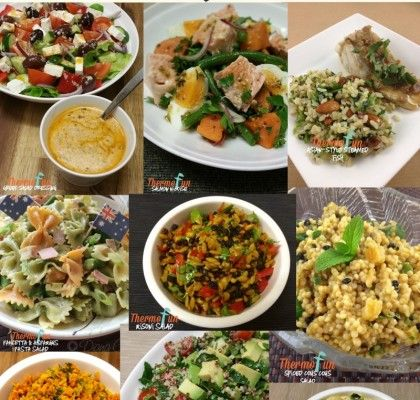 A great collection of salads made by ThermoFun