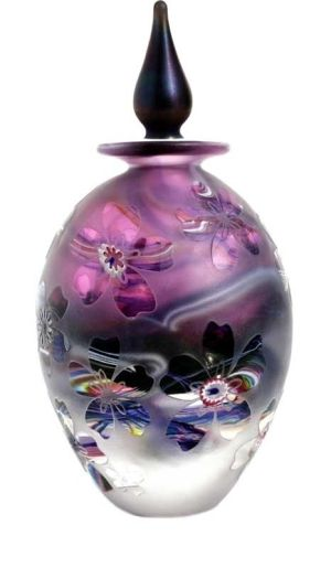 Crystal Cased Amethyst bottle by cristina