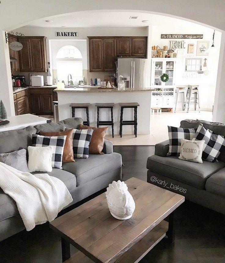 60 Farmhouse Living Room Joanna Gaines Magnolia Homes Decorating Ideas Froggypic Com Rustic Chic Living Room Rustic Living Room Design Farm House Living Room #small #townhouse #living #room #ideas