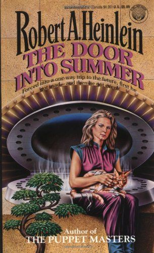 The Door into Summer by Robert A. Heinlein http://www.amazon.com/dp/0345330129/ref=cm_sw_r_pi_dp_Q3Lsvb1TV6YY4