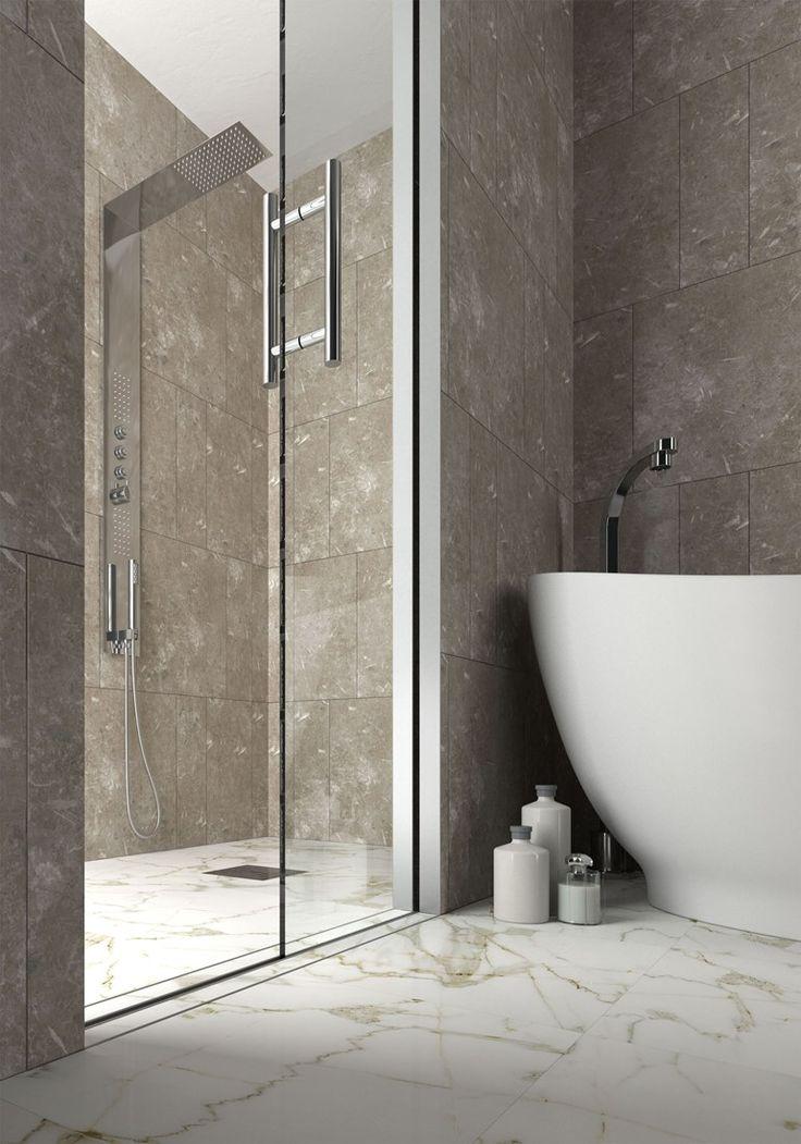 Porta scorrevole interno muro per box doccia ESSENTIAL DOCCIA - SCRIGNO