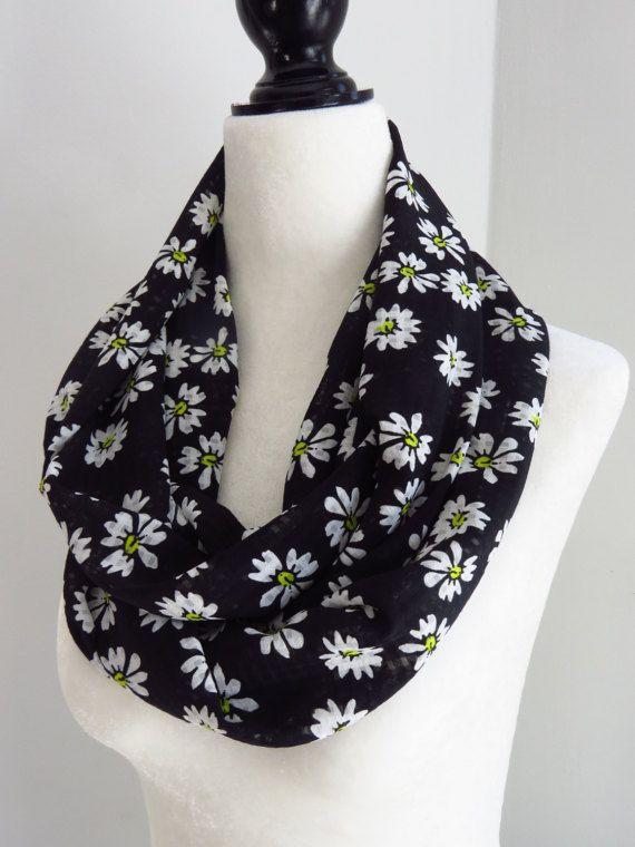 Daisy Infinity Scarf infinity scarf womens fashion by MelyndaSwan