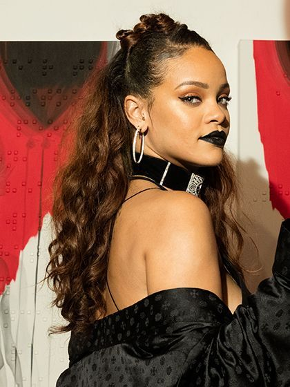Holiday Party Hairstyles - Bantu Knots and Curls - Rihanna   allure.com