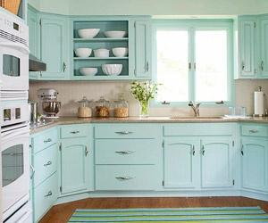 More blue kitchen love