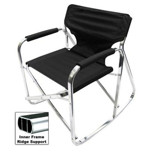Folding Rocking Chair RV Rocker Foldable Camping Chair My Style
