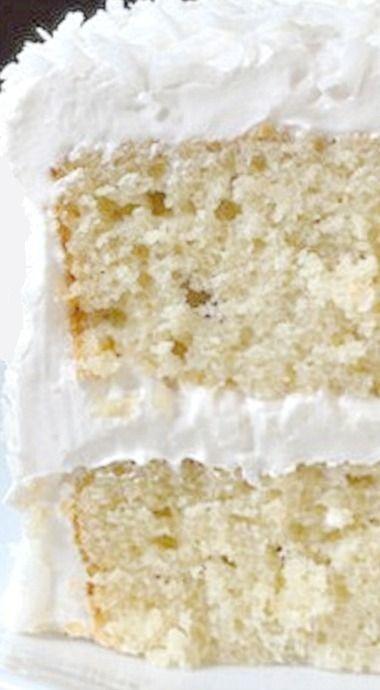 Coconut Velvet Cake with Coconut Marshmallow Frosting ❊