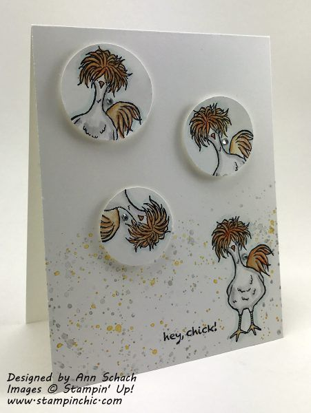 2017 Gorgeous Grunge Clear-Mount Stamp Set – 130517 Price: $18.00 , Hey Chick Clear Mount Stamp Set – 143331 Price: $0.00