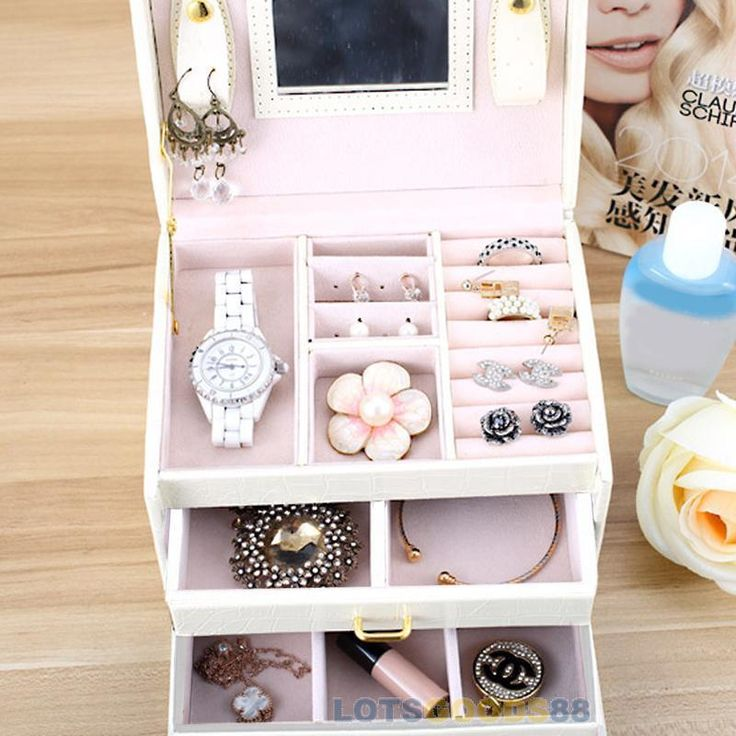 Material: PU Leather Claimond Veins. 1 x Jewelry Storage Box. What's Hot. Features:Organize your jewelry in different grids. Why Shop At Our Store. Categories.   eBay!