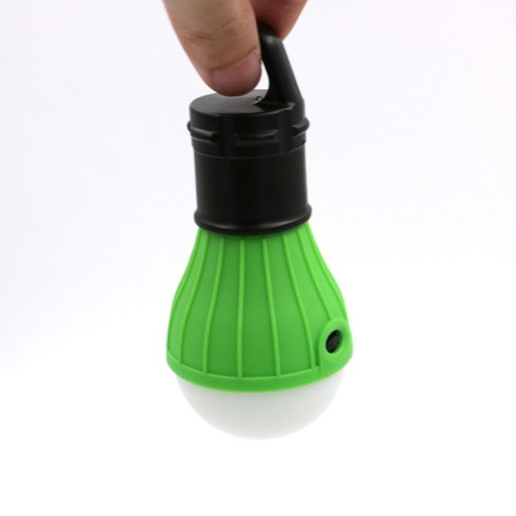 Very popular 3 LED tent light powered by 3 AAA batteries (not included). They are small, lightweight and extremely portable. You will wonder how you got along without them once you put them into use!