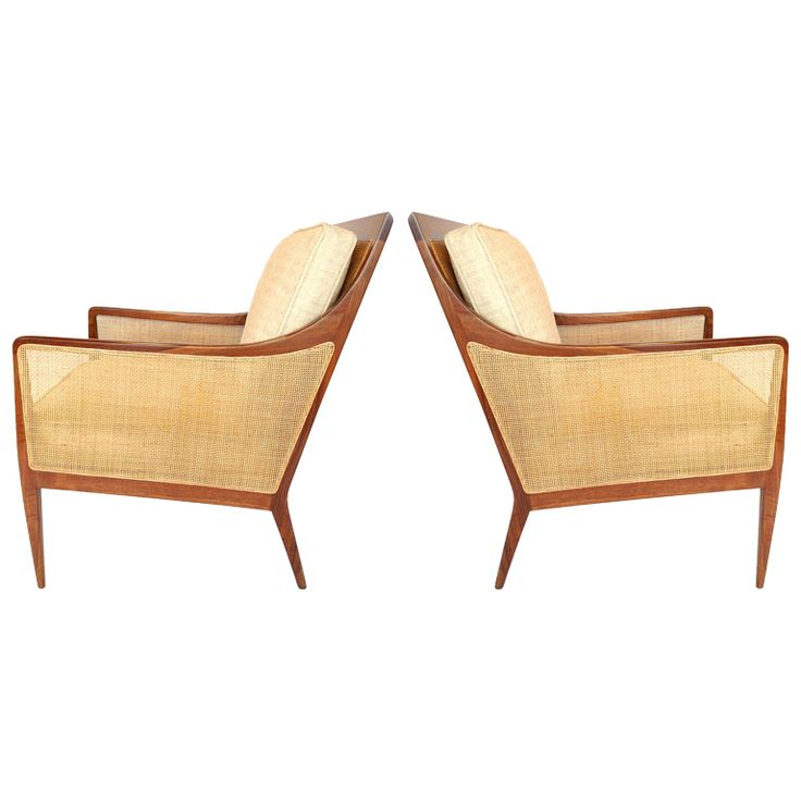 Exceptional Pair Of Lounge Chairs By Kipp Stewart For