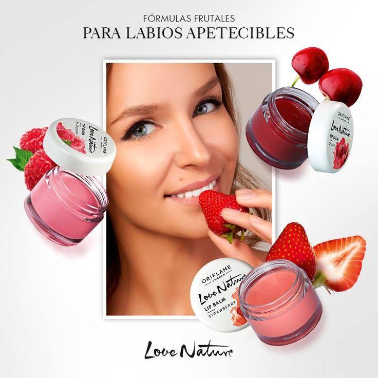 ¡Los frutos rojos están llenos de beneficios que puedes probar en tus #labios! Nutre con frambuesa, hidrata con cereza y suaviza con fresa. ¡Elige el tuyo y lleva la naturaleza donde vayas!