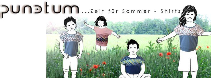 Sommerzeit ist T-Shirt-Zeit...Besuch uns für auf www.mypunctum.com - Viel Spaß beim Stöbern!
