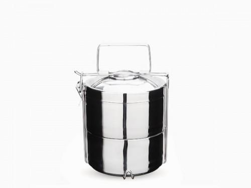 Onyx Tiered Stainless Steel Lunch Container, Ethically Made by A Canadian Product on Chill Bay General www.chillbay.ca
