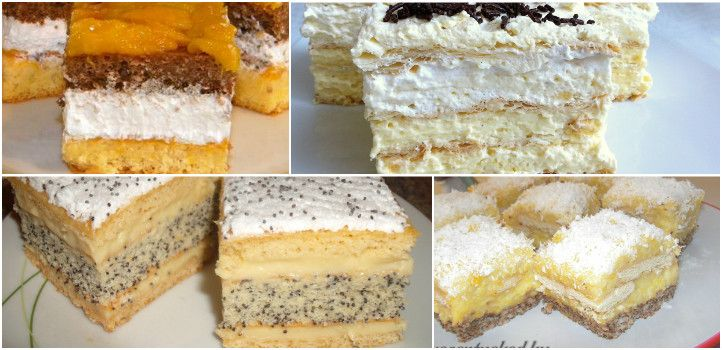 Pehelykönnyű finomságok: 7 nagyon krémes sütemény - Receptneked.hu - Kipróbált receptek képekkel