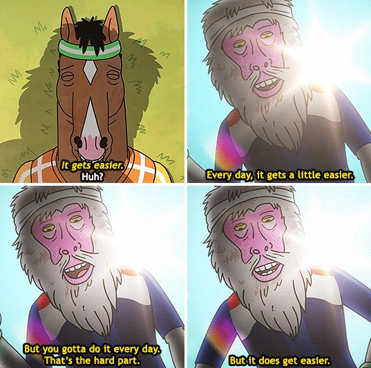 """And when this scene proved that there is always a glimmer of hope.   31 Times """"Bojack Horseman"""" Got Way, Way Too Real"""