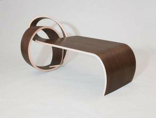 Moderne attraktive Couchtische fürs Wohnzimmer – 50 coole Bilder - trendy eigenartige kaffeetische dunkel holz struktur