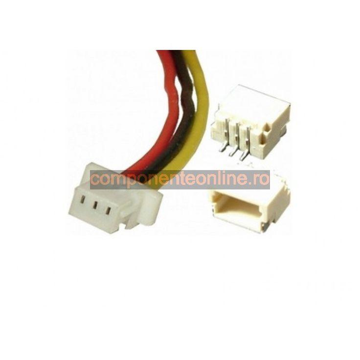 Cablu de semnal, 3 pini, 10cm - 173229