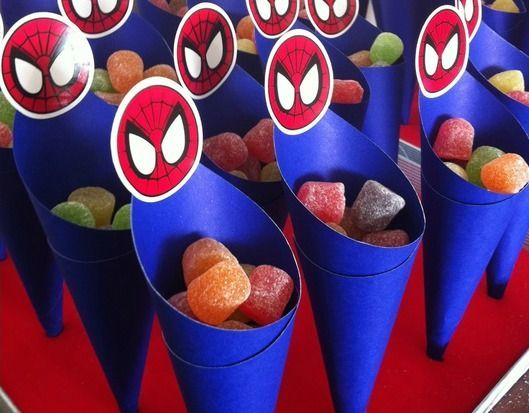 Decoração para Festa Infantil Homem Aranha