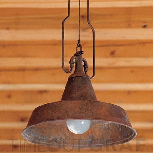 Old Barn Lamp For Above Our New Kitchen Bar