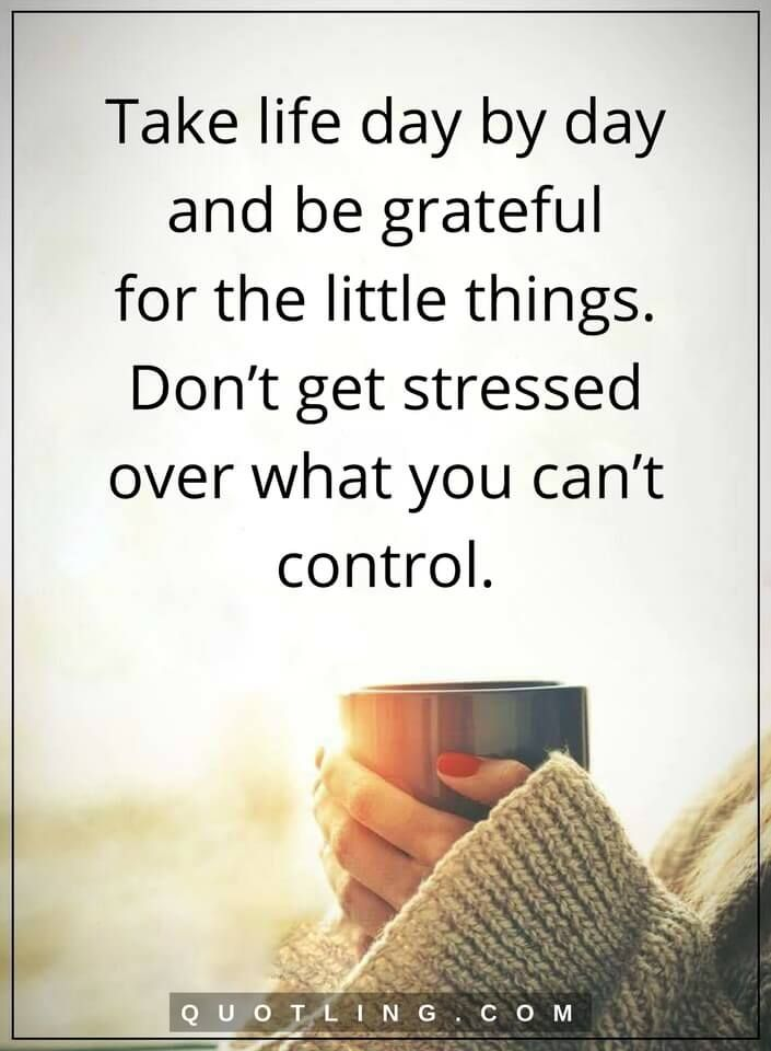 how to stop stressing about stuff