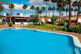Holiday to Los Girasoles in PLAYA DEL INGLES (SPAIN) for 14 nights (SC) departing from BRS on 03 May: Bungalow with Terrace for 2 Adults 0…