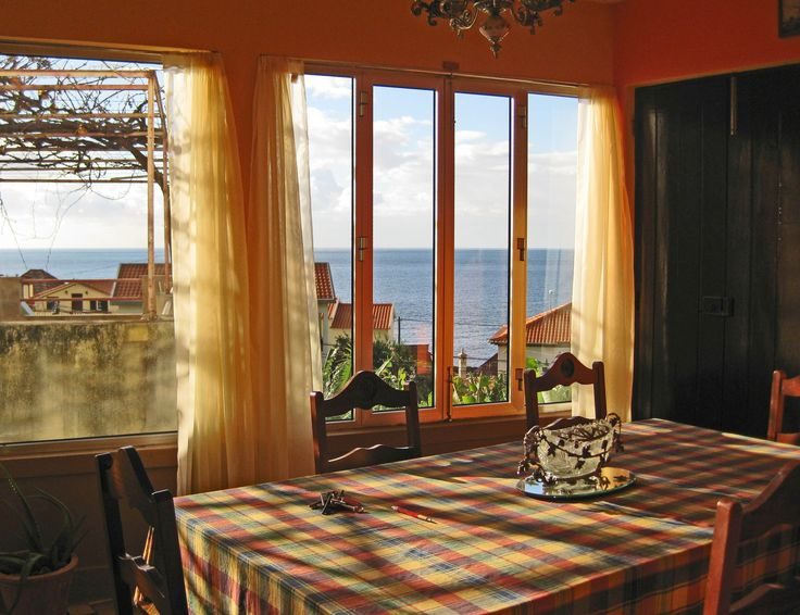 Enjoy gorgeous ocean views and breezes every morning during breakfast. Madeira, Portugal homes for sale