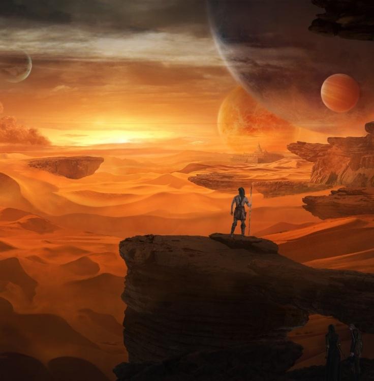 Dune ? #Art #Rocks #Sand #Planet #Desert
