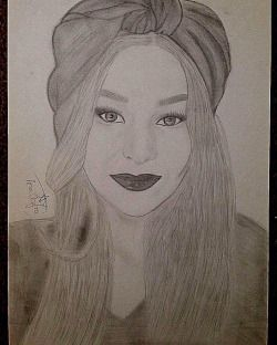 #pic #picture #instapic #instadrawings #girl #drawing #pencildrawing #portrait #art #lips #makeup #hair #eyes #eyebrows #brows #pencilart #pencilportrqit