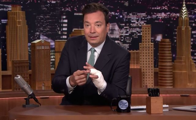 Jimmy Fallon Russell Crowe Ring