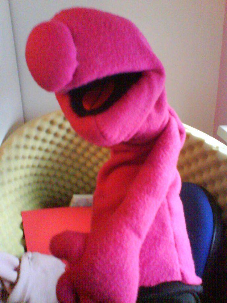 Making puppet from The glorified sock puppet pattern - Puppet Hub