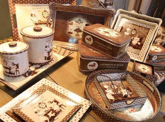 Colecția de obiecte decorative Chocolat