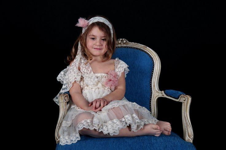 Girls dress,Ellie - Φόρεμα Βάπτισης Έλλη
