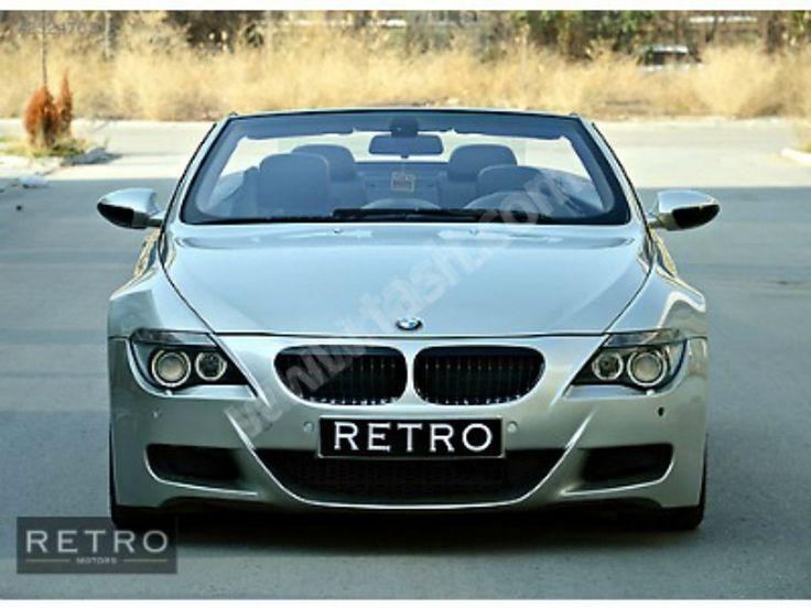 BMW 6 Serisi 6.45Ci Cabrio RETRO MOTORS 6.45 CABRIO