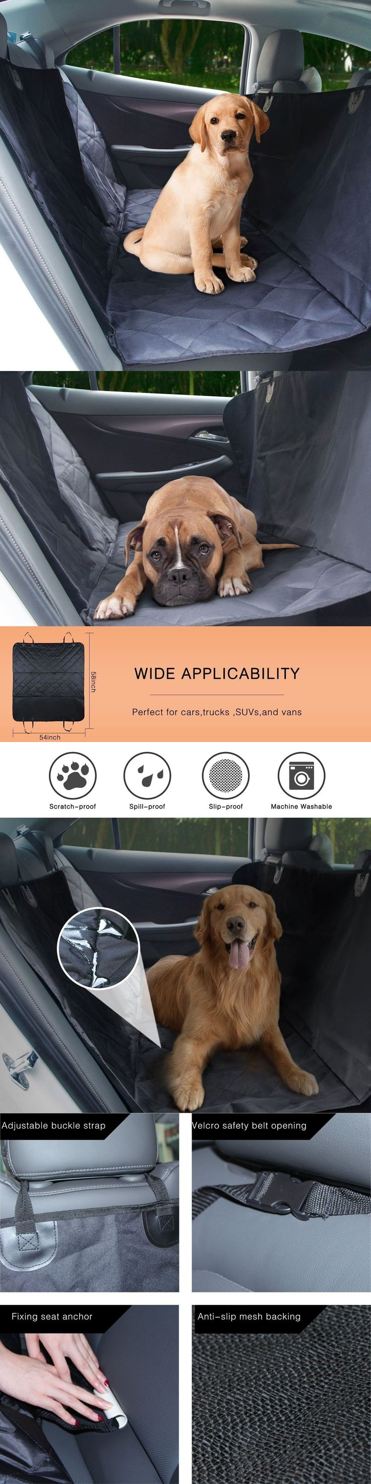 Car Seat Covers 117426: Rear Car Seat Protector Back Cover Waterproof Organizer For Dog Pet Cat Mats Sit -> BUY IT NOW ONLY: $33.82 on eBay!