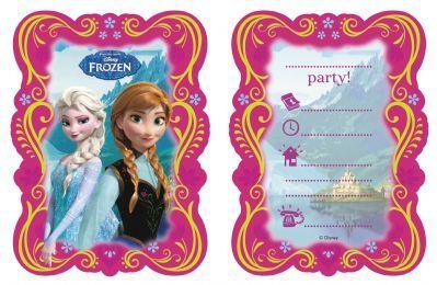 Disney Frozen Invitations & Envelopes | The Partyware Shop